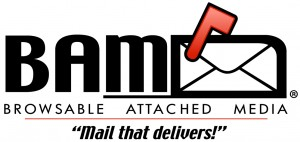 Custom logo design for BAM Mail™