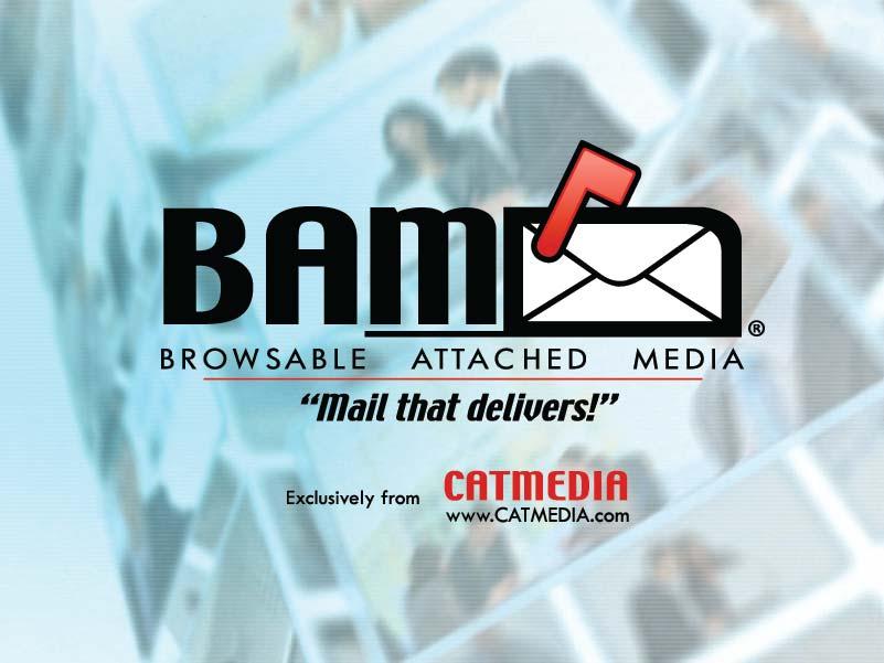 CATMEDIA BAM Mail™ logo graphic