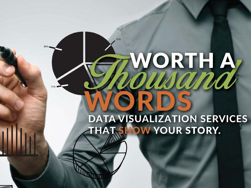 Worth a Thousand Words; Data visualization services that show your story.
