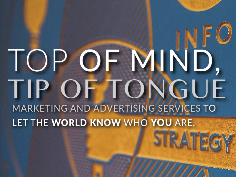 CATMEDIA Marketing & Advertising Top of the mind tip of the tongue