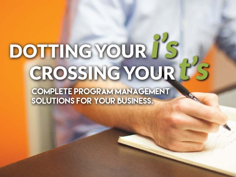 CATMEDIA Program Management Dotting your i's crossing your t's