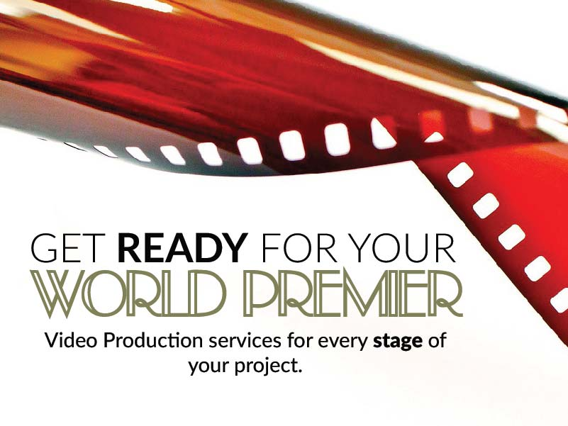 CATMEDIA Video Production Get ready for your world premier