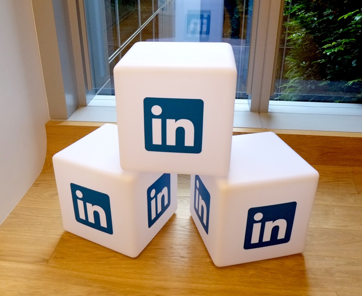 CATMEDIA Marketing and Advertising LinkedIn Blocks with logo