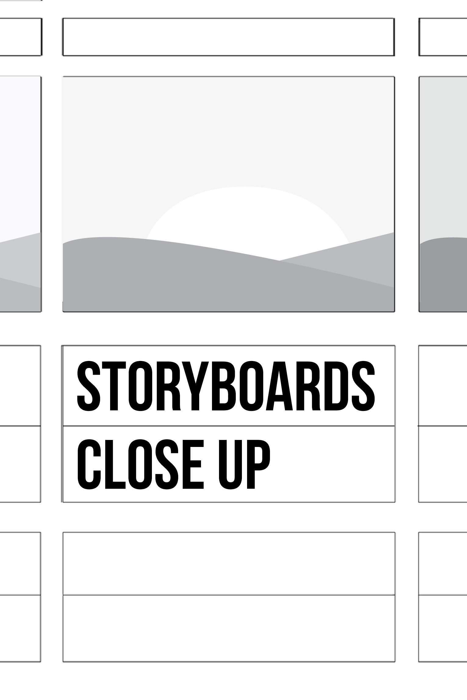 Storyboards close up-pintreset