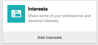 LINKEDIN interest- CATMEDIA