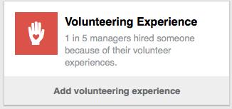 LINKEDIN volunteering experience CATMEDIA