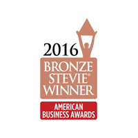 2016 Stevie Award Winner Bronze Logo