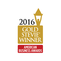 2016 Stevie Award Winner Gold Logo